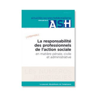LA RESPONSABILITÉ DES PROFESSIONNELS DE L'ACTION SOCIALE